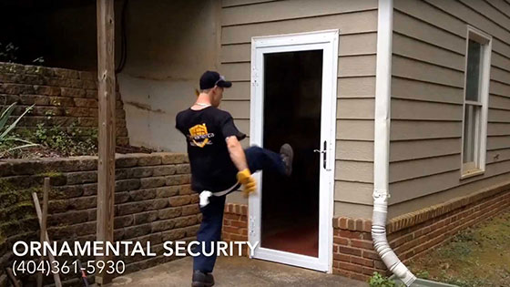 Security Doors & Burglar Bars Atlanta | Ornamental Security